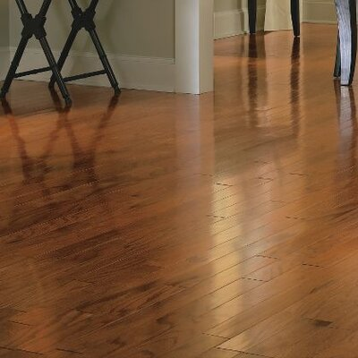 Turlington 5 Engineered Oak Hardwood Flooring in Gunstock