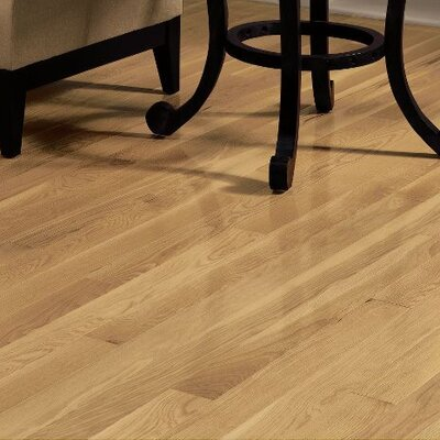 Dundee 3-1/4 Solid Red Oak Hardwood Flooring in Natural