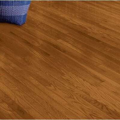 Plymouth 2.25 Solid Red Oak Hardwood Flooring in Amber