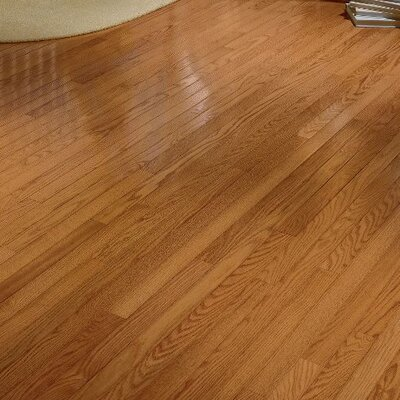 Plymouth 2.25 Solid Oak Hardwood Flooring in Honey