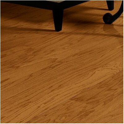 Turlington 5 Engineered Oak Hardwood Flooring in Butterscotch