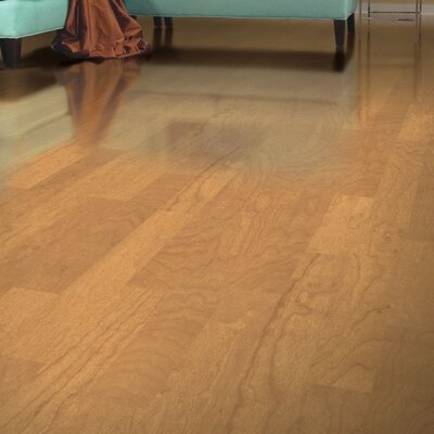 Turlington 5 Engineered Maple Hardwood Flooring in Caramel