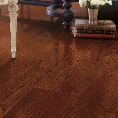 Turlington 5 Engineered Maple Hardwood Flooring in Cherry