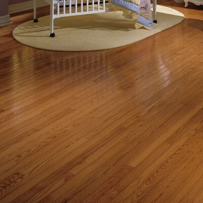 Waltham Strip 2-1/4 Solid Oak Hardwood Flooring in Gunstock