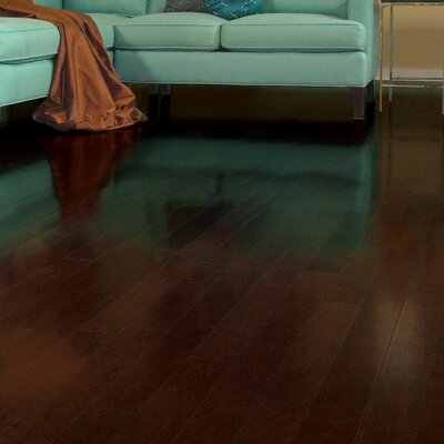 Turlington 3 Engineered Cherry Hardwood Flooring in Toasted Sesame