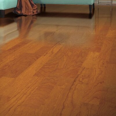 Turlington 3 Engineered Maple Hardwood Flooring in Cinnamon