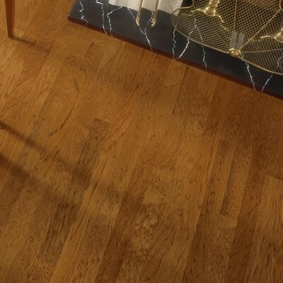 Turlington 3 Engineered Hickory Hardwood Flooring in Falcon Brown