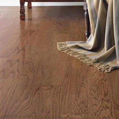 Turlington 5 Engineered Oak Hardwood Flooring in Saddle