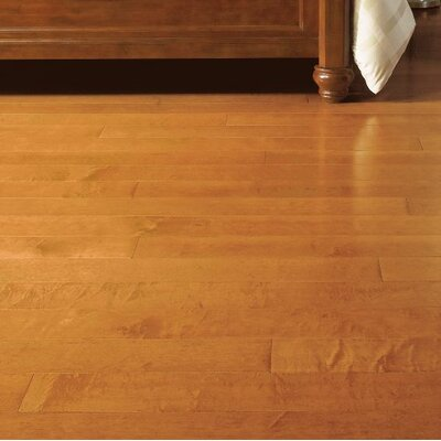 Turlington 5 Engineered Maple Hardwood Flooring in Cinnamon