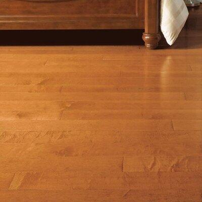 Turlington 5 Engineered Maple Hardwood Flooring in Cinnamon