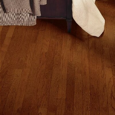 Turlington 3 Engineered Hickory Hardwood Flooring in Paprika