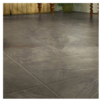 GardenStone 16 x 48 x 8mm Tile Laminate in Black Pearl