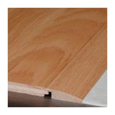 0.33 x 1.5 x 78 Red Oak Reducer in Ivory White