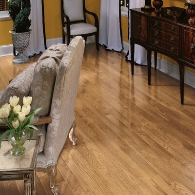 Bristol 3-1/4 Solid Red Oak Hardwood Flooring in Natural