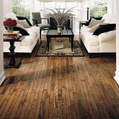 Trumbull Strip 2-1/4 Solid Oak Hardwood Flooring in Honey
