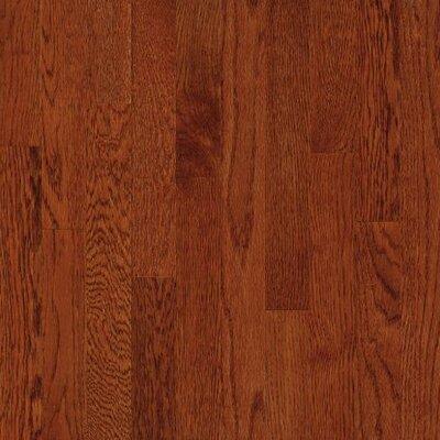 Waltham Plank Random Width Solid Oak Hardwood Flooring in Whiskey