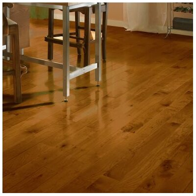 Random Width Solid Maple Hardwood Flooring in Sumatra