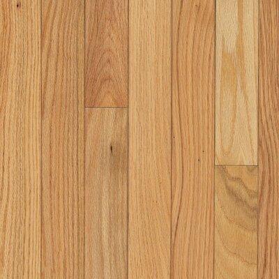 Waltham Strip 2-1/4 Solid Oak Hardwood Flooring in Country Natural