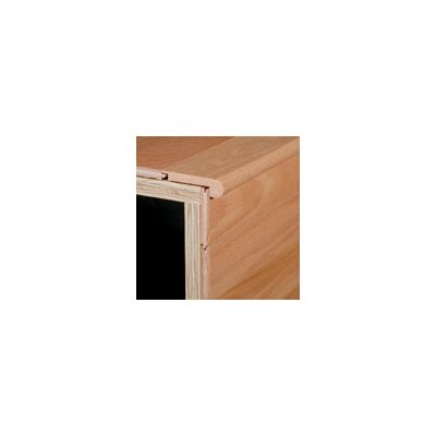 0.63 x 3.13 x 78 Brazilwood Stair Nose