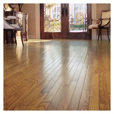 Ascot Strip 2-1/4 Solid Oak Hardwood Flooring in Chestnut
