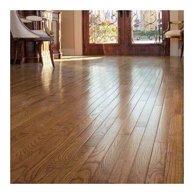 Ascot Strip 2-1/4 Solid Oak Hardwood Flooring in Sable