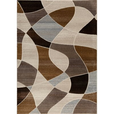 Portland Brown Area Rug Rug Size: Rectangle 5 x 76