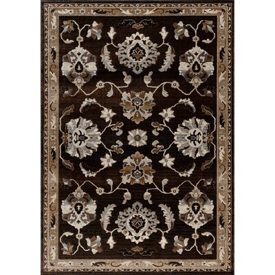 Portland Charcoal/Grey Area Rug Rug Size: Rectangle 5 x 76