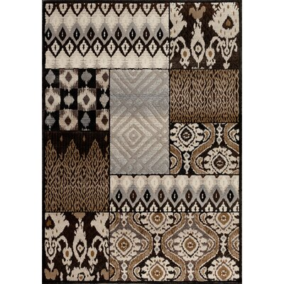Portland Charcoal Area Rug Rug Size: Rectangle 710 x 910