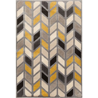 Suffolk Silver Area Rug Rug Size: Rectangle 710 x 910
