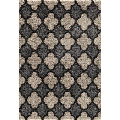 Hamilton Pearl/Silver Area Rug Rug Size: 710 x 910
