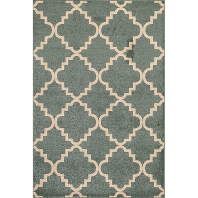 Darcy Green Indoor/Outdoor Area Rug Rug Size: 710 x 910