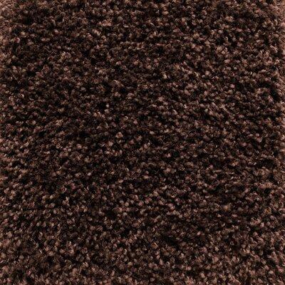 Vanessa Hand-Tufted Chocolate Area Rug Rug Size: Rectangle 75 x 96