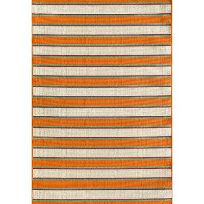 Lindsay Orange Indoor/Outdoor Area Rug Rug Size: Rectangle 710 x 910