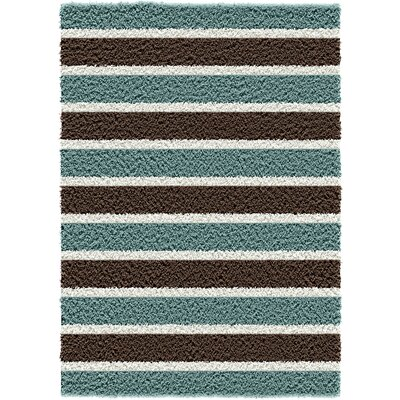 Beige/Chocolate Outdoor Area Rug