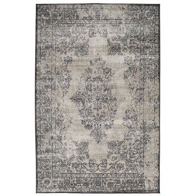 Gaines Mist Blue/Castle Gray Area Rug Rug Size: 5 x 76