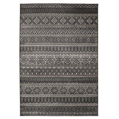 Tyesha Gray Area Rug Rug Size: 710 x 910