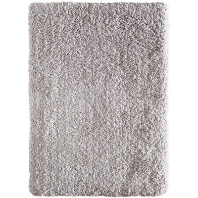 Voorhees Shag Hand-Tufted Light Gray Area Rug Rug Size: 5 x 7