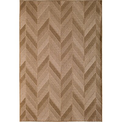 Annica Beige Indoor/Outdoor Area Rug Rug Size: 53 x 77