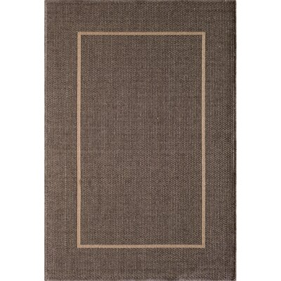 Annica Gray Indoor/Outdoor Area Rug Rug Size: 53 x 77