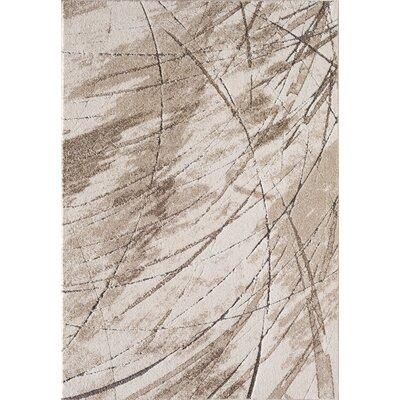 Cierra Ivory/Beige Area Rug Rug Size: 5 x 73