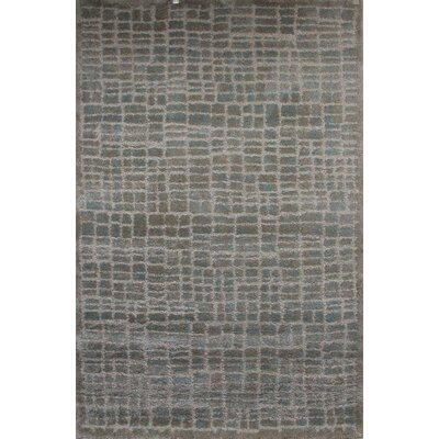 Lindstrom Glass Parchment Beige Area Rug Rug Size: 710 x 910
