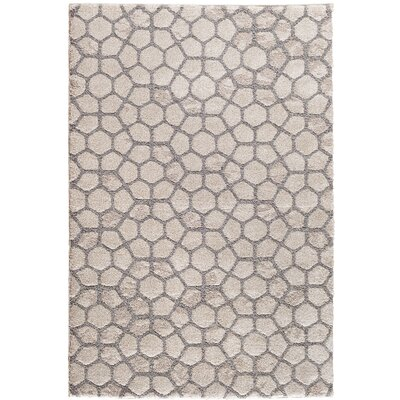 Morristown Parchment Beige/Gray Area Rug Rug Size: 710 x 910