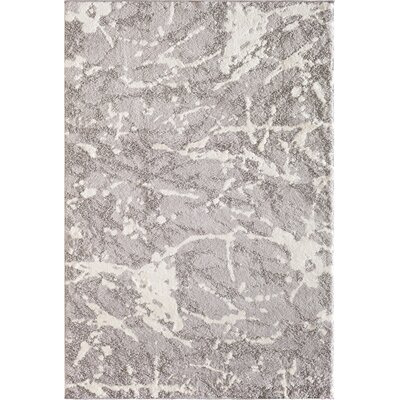 Glastenbury Gray Area Rug Rug Size: 5 x 76