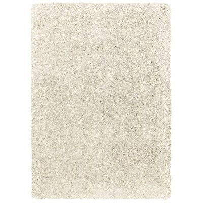 Seward Shag Rectangle Hand Tufted Light Beige Area Rug