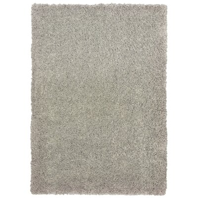 Seward Shag Hand Tufted Light Gray Area Rug