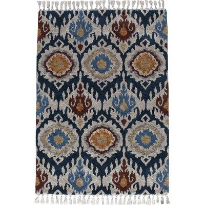 Kabbani Indigo Blue Area Rug Rug Size: 5 x 7