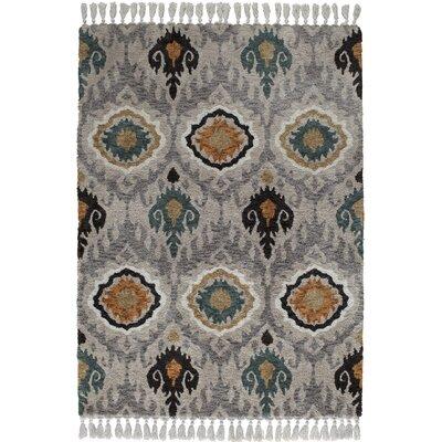 Kabbani Gray Area Rug Rug Size: 5 x 7