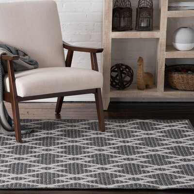 Lipman Gray/Cream Indoor/Outdoor Area Rug