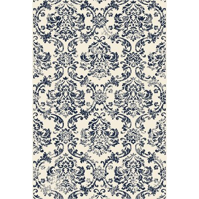 Hunter Blue Area Rug Rug Size: Rectangular 710 x 910