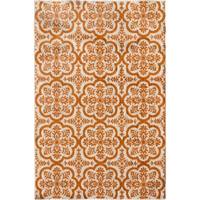 Merdasa Orange Area Rug Rug Size: Rectangular 67 x 96
